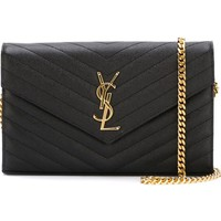 Saint Laurent Monogram Chain Wallet - Farfetch