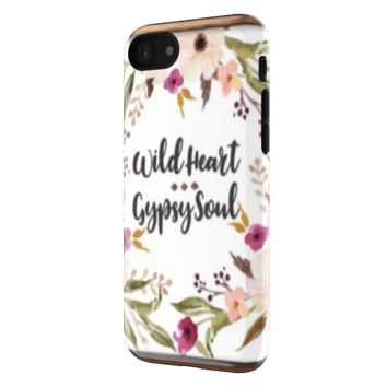 Wild Heart Gypsy Soul - iPhone 7 Tough Case