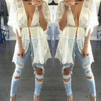 Lace Freedom Blouse