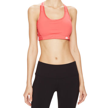 Alo Yoga Enamour Sports Bra - Red - Size XS