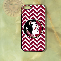 Florida State Chevron-iPhone 5, 5s, 5c, 4s, 4 case,Ipod touch 5, Samsung GS3, GS4 Rubber or Hard Plastic Case, Phone cover