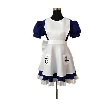 Cool Alice Madness Returns Cosplay Costume Halloween Costumes For Women Girls Any Size  Custom MadeAT_93_12
