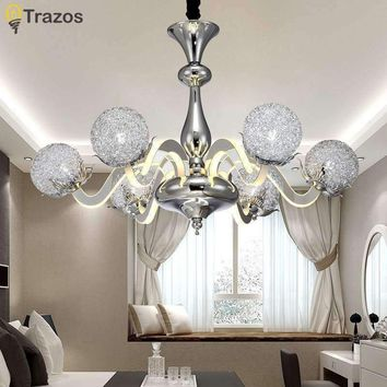 Chandelier Novelty Lights Lighting Quality Modern Chandeliers ceiling Bedroom Living room Villa Bar innovate Ceiling Fixtures