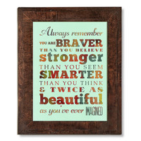 Dr. Seuss' Quote Subway Roll / Typography Inspirational Quote Art Poster 18X24 - Unframed - Wall Art Decoration - LHA-349-D04