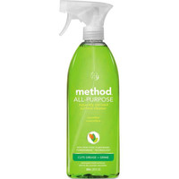 Method 00002CT All Surface Cleaner, Cucumber, 28 oz Bottle, 8/Carton