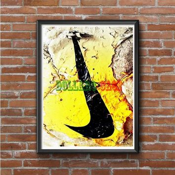 Nike Soccer Ball Art Photo Poster