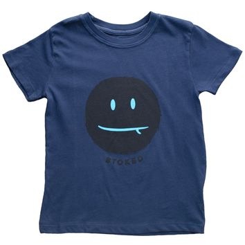 Stoked Face Vintage Tee