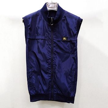 Burberry Women or Men Fashion Casual Sleeveless Cardigan Jacket Coat