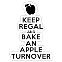 Keep Regal and Bake an Apple Turnover