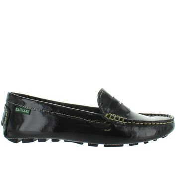 Eastland Patricia - Black Patent Penny Loafer Driving Moc