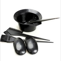 5Pcs/Set Hair Color Dye Tint With Hair Brushes Bowl Combo Hair Tools Fashion Designed Hair Dye