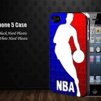 NBA Logo Red Blue ,Iphone 5 case,iphone 4,4S,samsung galaxy s2,s3,s4 cases, accesories case,cell phone