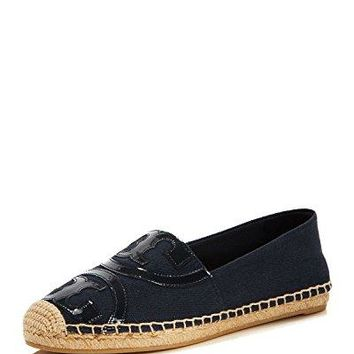 Tory Burch Poppy Espadrille Flat Sneakers, Royal Navy