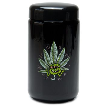 X-Large UV Screw-Top - Happy Leaf