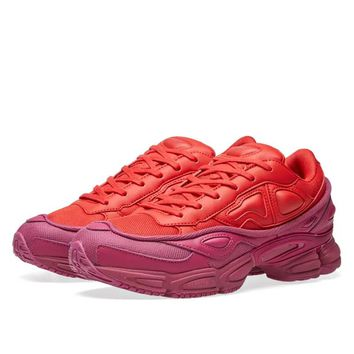 Red and Purple Ozweego by RAF SIMONS