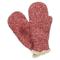 Impressions by Isotoner Marled Mittens - Red