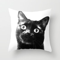 hello! Throw Pillow by Marianna Tankelevich