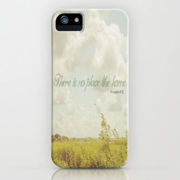 There is no place like home -The Wizard Of OZ iPhone Case by secretgardenphotography [Nicola]