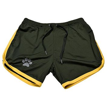 Mens summer new fitness shorts Fashion compression Fast drying gyms Bodybuilding