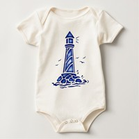 LIGHTHOUSE BABY BODYSUIT