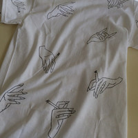 Harry Styles Hand Shirt