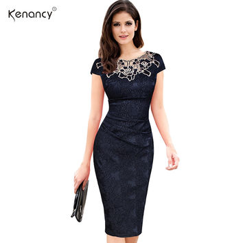 Women embroidery Elegant Vintage Dress Jacquard Dobby Fabric Hollow out