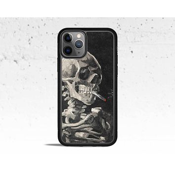 Skull & Cigarette Phone Case for Apple iPhone