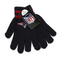 NFL New England Patriots Wool Gloves [Men's - One Size]