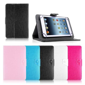 PU Leather Stand Case Cover For Lenovo TAB