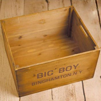 Vintage Posing Shipping Box Crate Newborn Photography Props,