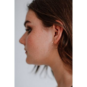 Half United Stella 2.0 Hoop Earrings - Gold