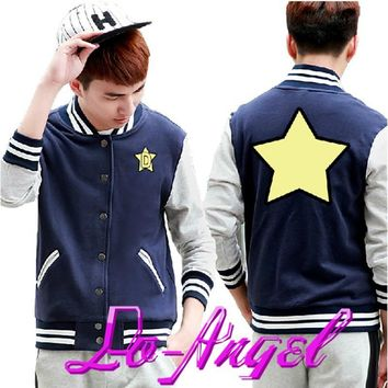 2016 Newest Anime Space Dandy Baseball Uniform Cosplay Costume Jacket Lovers Hoodie Coat