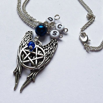 Supernatural team free will necklace
