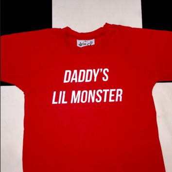 SWEET LORD O'MIGHTY! DADDY'S LIL MONSTER