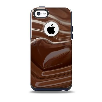 Dipped Chocolate Heart Skin for the iPhone 5c OtterBox Commuter Case