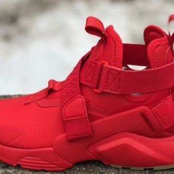 KUYOU Nike Womens Air Huarache City Speed Red AH6787-600