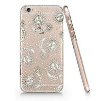 Sun And Moon Slim Pattern Iphone 6 Case, Clear Iphone 6 Hard Cover Case (For Apple Iphone 6 4.7 Inch Screen)-Emerishop