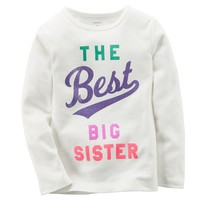 Carter's ''The Best Big Sister'' Tee - Girls