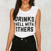 Social Decay Drinks Well Muscle Tank