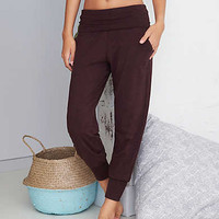 Aerie Real Soft® Jogger Pant, Deep Plum
