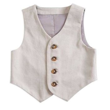 K&K Baby Infant Boy Suit Vest