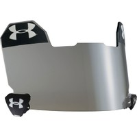 Under Armour Adult Standard Football Visor - Grey w/ Multiflection - Dick's Sporting Goods