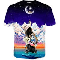 Reaching for the moon Tee