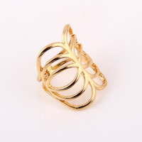 Cage Knuckle Ring