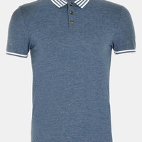 Topman Tipped Polo | Nordstrom