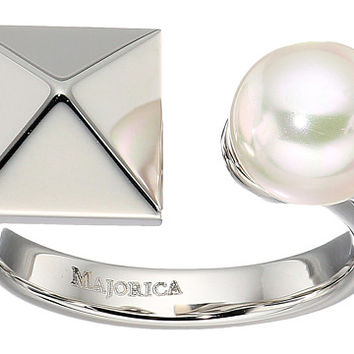 Majorica Why Not? Silver Ring White - Zappos.com Free Shipping BOTH Ways