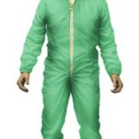 "Mezco Toys Breaking Bad: Green Haz-Mat Suit Walter 6"" Figure, White"