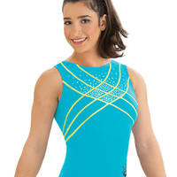 Aly Raisman Atlantis Wave Leotard from GK Elite