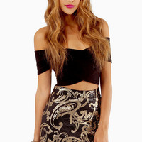 Scoring with Sequins Skirt $37