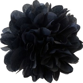 18 inch large Black pom pom,party poms,birthday pompoms,Firstbirthday,baby shower,hanging poms,nursery pom pom,pompoms,party decorations